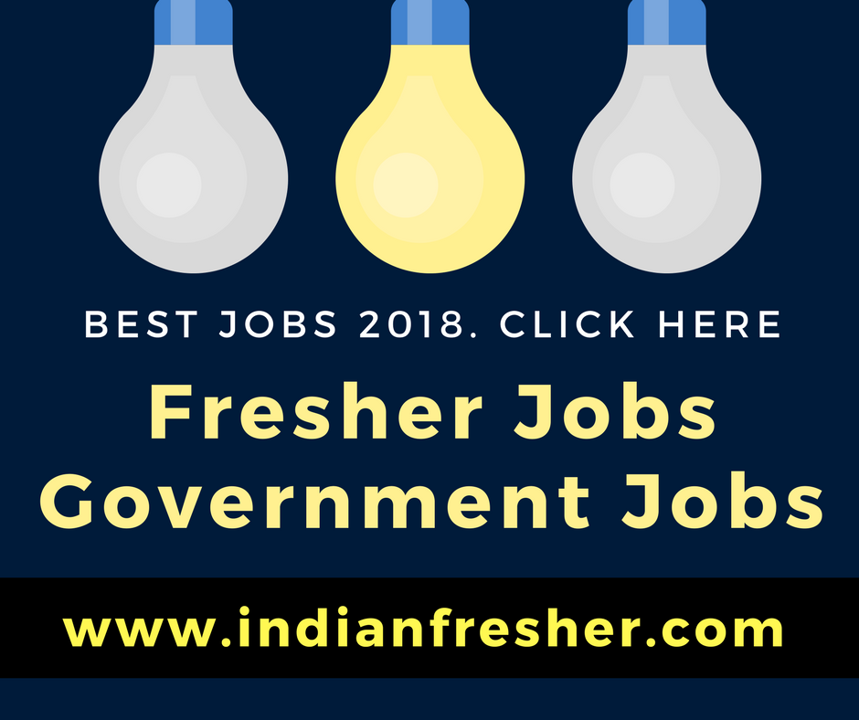 Fresher Jobs - Government Jobs for Freshers